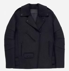 Biker Jacket in a wool blend 149euros