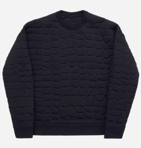 Crocodile-textured jumper 299 euros