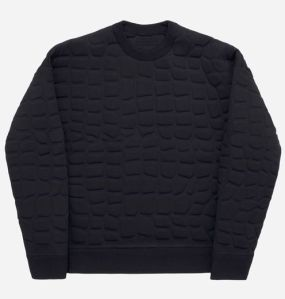 Crocodile-textured jumper 299 euros