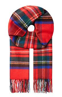 Johnstons Royal Sweater tartan scarf $510