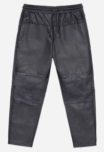 Leather Joggers 249 euros