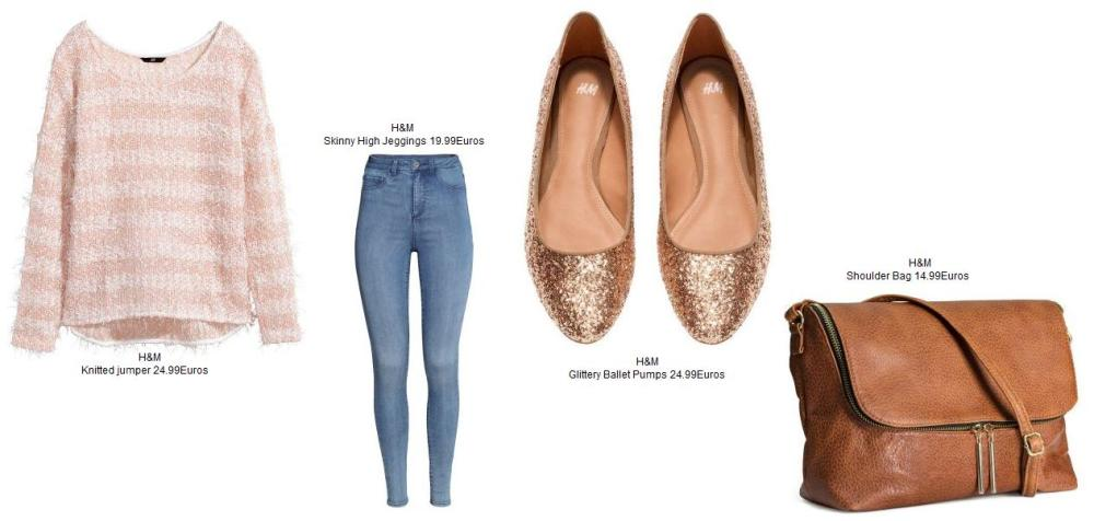 Total H&M look with 84.96Euros