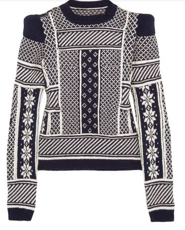 Maison Martin Margiela Fair Isle wool sweater $1.625