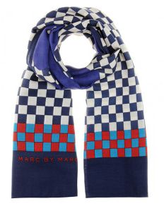 Marc by Marc Jacobs Don't panic wool scarf $275