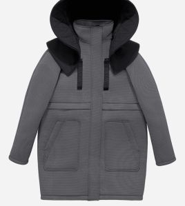 parka with a down gilet 249 euros