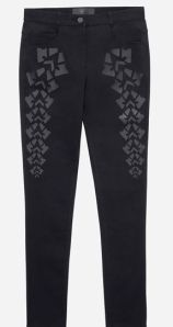 Patterned jeans 79.99 euros