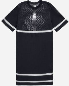 Perforated pattern dress 129euros