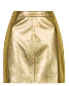 Shiny Pu mini Skirt 50.00euros
