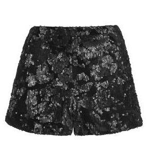 Velvet Sequin Shorts 46.00euros