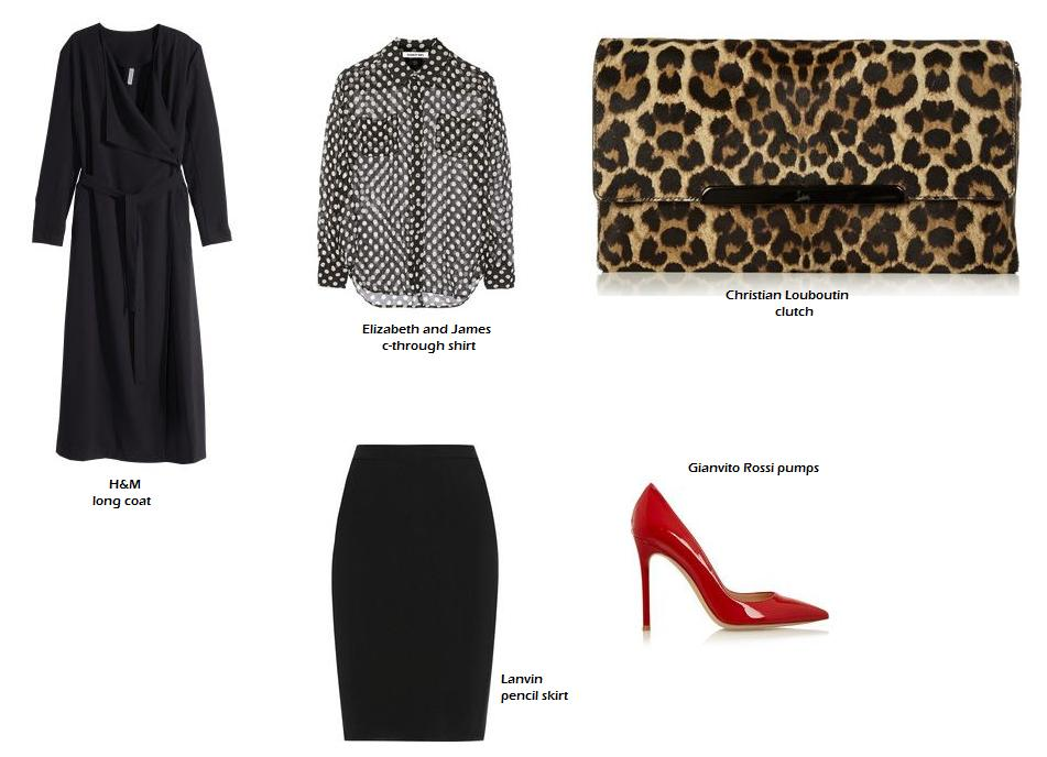 Shop at H&m and at net-a-porter for Christian Louboutin, Lanvin, Gianvito Rossi and Elizabeth and James