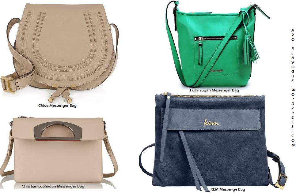 The Messenger Bag Shop Chloe and Christian Louboutin at net-a-porter, Fulla Sugah and Kem.