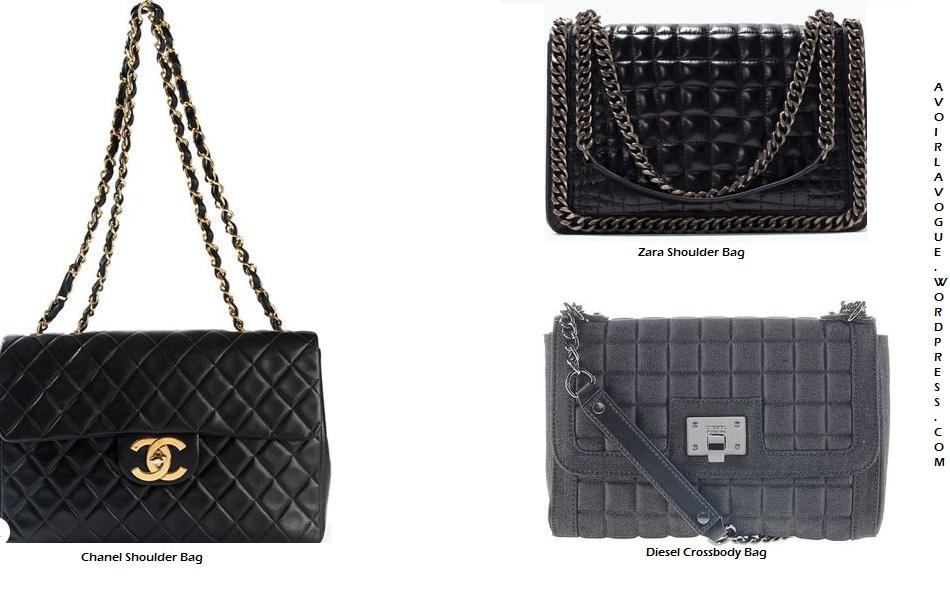 Morning Bags Chop at Chanel, Diesel, Zara