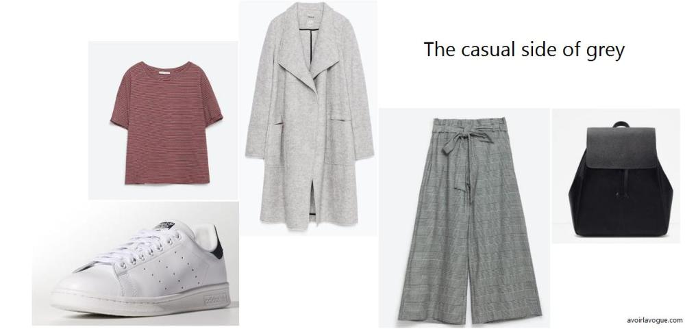 The casual side of grey
