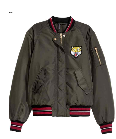 H&M Bomber Jacket SHOP HERE