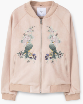 MANGO (emboidered bomber jacket) SHOP HERE